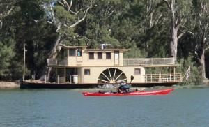 Loch 9 paddle steamer