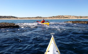 Through the reef at Port Noarlunga