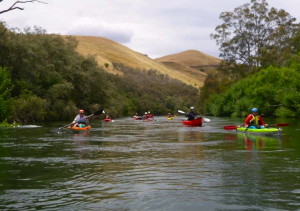 Paddling the Goulburn R, Vic